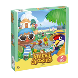 Winning Moves Puzzle Animal Crossing Puzzle New Horizons Characters (500 Teile), Puzzleteile