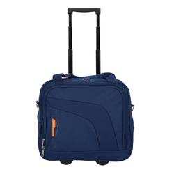 Gabol Week 2-Rollen Businesstrolley 33 cm Laptopfach blau