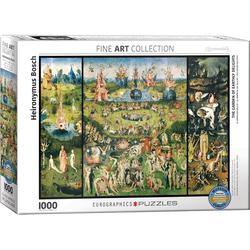 empireposter Puzzle Hieronymus Bosch - Der Garten der Lüste - 1000 Teile Puzzle - Grösse 68x48 cm, 1000 Puzzleteile