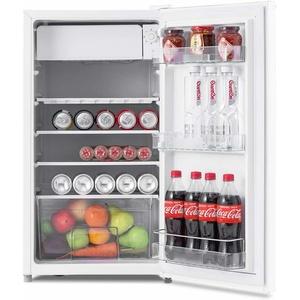 91 L Mini Kühlschrank mit Gerierfach Standkühlschrank Getränkekühlschrank