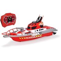 DICKIE Toys RC Feuerwehrboot, RTR mit Wasserspritzfunktion, 2,4 GHz