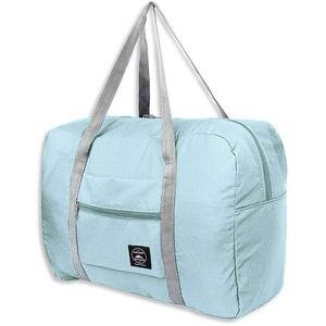 Faltbare Reisetasche, Für Gepäck Fitnessstudio Sport Leichte, Packbare Reisetasche Aus Oxford-Stoff Mit Großer Kapazität, Wasserdicht Für Männer Und Frauen