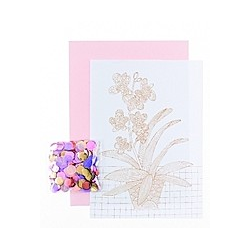 DIY Card, Hygge, Orchidee