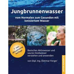 Jungbrunnenwasser als Buch von