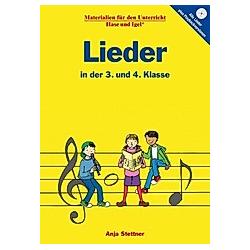 Lieder in der 3. und 4. Klasse. Anja Stettner  - Buch