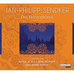 Das Herzenhören als Hörbuch CD von Jan-Philipp Sendker