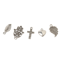VBS Anhänger Set Charms Mix Give me five, 5er-Set