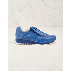 Deerberg Damen Leder-Sneaker Wiba blau
