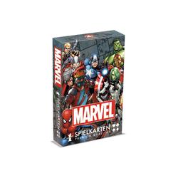 Winning Moves Spiel, Kartenspiel Number 1 Spielkarten Marvel Universe, inkl. 2 Joker