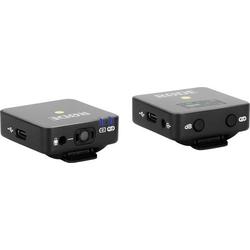RODE Microphones Wireless GO Funkmikrofon-Set Übertragungsart:Funk Blitzschuh-Montage, inkl. Kabel,