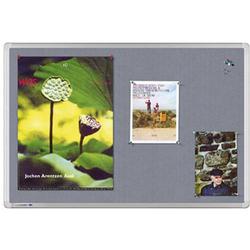 Legamaster 7-141943 Pinnwand Grau Textil 90cm x 60cm