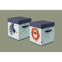 Flexa Textil Aufbewahrungskiste Safari 83-70177