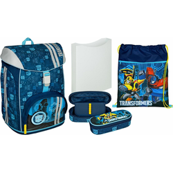 Scooli Schulrucksack FlexMax, Transformers (Set)