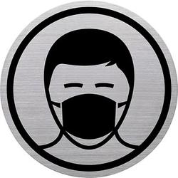 helit Piktogramm the badge - Mundschutzpflicht