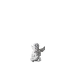 Rosenthal Engelfigur Engel klein Weiß matt Engel mit Hund 8 cm (1 Stück)