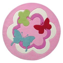 Kinder Teppich Esprit Butterfly Party ESP-3813-01 rosa