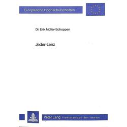 Jeder-Lenz als Buch von Erik Müller-Schoppen