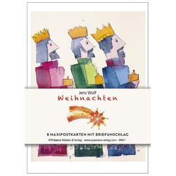 Maxi-Postkarten-Serie Weihnachten
