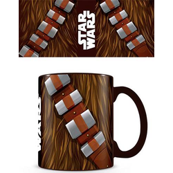 Tasse koloriert Star Wars Chewbacca Torso