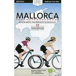 Mallorca  Radkarte Fahrradtourismus. Aina Pla  Joan Esteve  - Buch