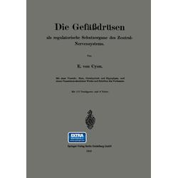 Die Gefäßdrüsen als Buch von Élie de Cyon