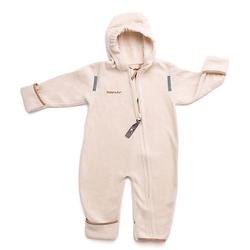 Babyanzug Fleece-Overall creme Gr. 80/86