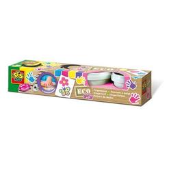 SES Creative® Fingerfarbe ECO Girly, 4 Farben