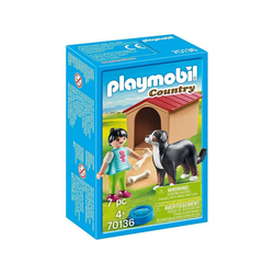 Playmobil® Spielwelt PLAYMOBIL® 70136 - Country - Hofhund mit Hütte