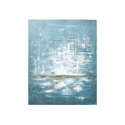 KARE Dekoobjekt Acrylbild Abstract Blau One 150x120cm