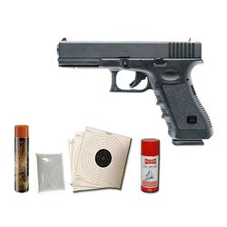 VFC Glock 17 Gen. 3 mit Metallschlitten GBB Softairpistole 6mm BB schwarz Spa...