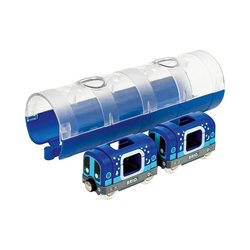 BRIO® Spielzeug-Eisenbahn Tunnel Box U-Bahn Glow in the Dark