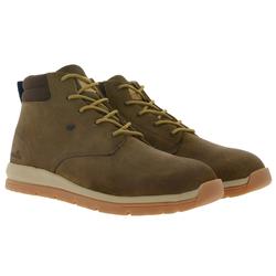 Boxfresh Boxfresh Browndale Herbst-Boots super bequeme Stiefel für Herren Freizeit-Stiefel Braun Stiefel 45