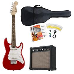 Fender Squier Mini Strat V2 IL TRD E-Gitarre Set