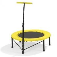 Vitalmaxx Fitness Trampolin 96 cm schwarz/gelb