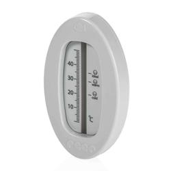 Badethermometer oval - grau