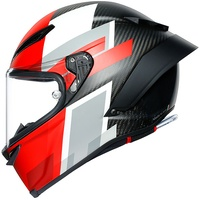 AGV Pista GP RR Competizione Carbon/White/Red