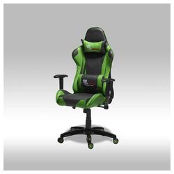ebuy24 Gaming-Stuhl Gamer Stuhl Wild als Bürostuhl in grün und schwarz