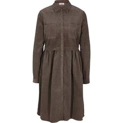 LINEA TESINI by Heine Petticoat-Kleid Kleid braun 40