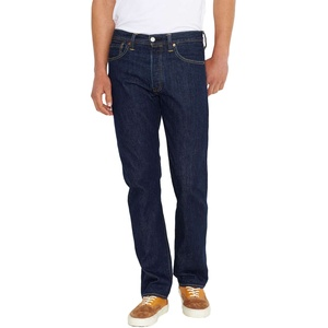 Levis 501 Jeans in  Onewash-W42 / L34 Blau 42 x 34
