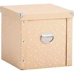 Zeller Present Aufbewahrungsbox, für Weihnachtskugeln