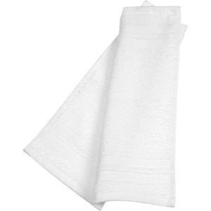 ebelin Handtuch aus Frottee weiss 100 % Baumwolle GOTS-zertifiziert