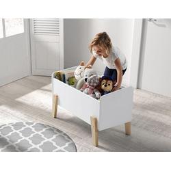 Vipack Spielzeugtruhe Kiddy, MDF-Oberfläche weiß
