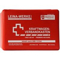 Leina-Werke 10000 KFZ-Verbandkasten Standard, Rot/Weiß