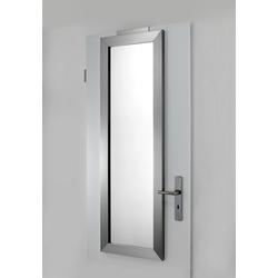 Spiegel einfach über die Tür hängen ca. 134/44/4,5 cm
