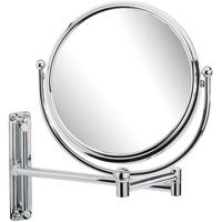 WENKO Wandspiegel, silber, Material Stahl »Deluxe«, WENKO