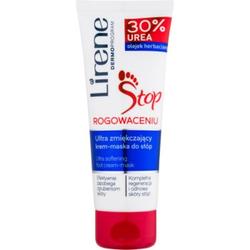 Lirene Foot Care Crme und Maske für die Füße 2 in 1 für die hornige Haut (30 % Urea) 75 ml