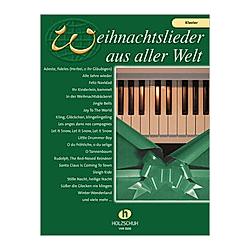 Weihnachtslieder aus aller Welt  für Klavier. Uwe Sieblitz  - Buch
