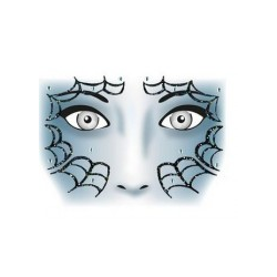 HERMA Face Art Sticker Spider (15305)