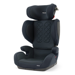 RECARO Autokindersitz Mako - Core Performance Black, 7 kg, (2-tlg), Kinder Autositz - ab 3,5 - 12 Jahre (100 -150 cm)