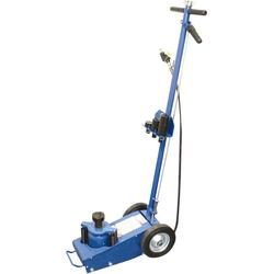 BGS Wagenheber Lufthydraulisch, fahrbar, 22 t blau
